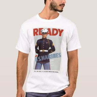 Camiseta O ~ pronto junta-se a fuzileiros navais dos E.U.