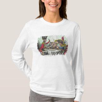 Camiseta O pudim de ameixa no perigo, 1805