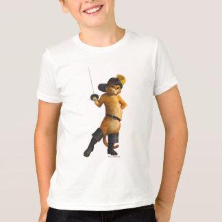 Camiseta O Puss do CG acena a espada