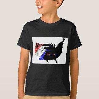 Camiseta O quarto de julho caçoa o t-shirt