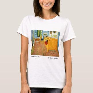 Camiseta O quarto de Van Gogh (gatos dos artistas