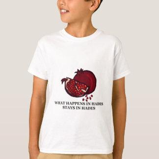 Camiseta O que acontece em Hades…
