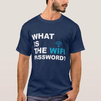 Camiseta O que é a senha de WIFI engraçada