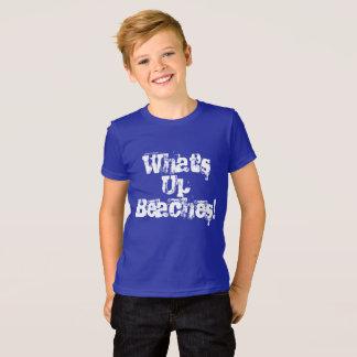 Camiseta O que é acima das praias