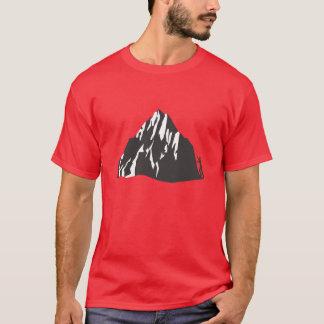 Camiseta O que é seu gráfico dianteiro e traseiro de
