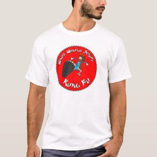 Camiseta O que Jesus Kung Fu