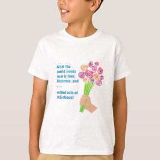 Camiseta O que o mundo precisa agora