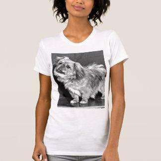 Camiseta O Quizzicle Pekingese