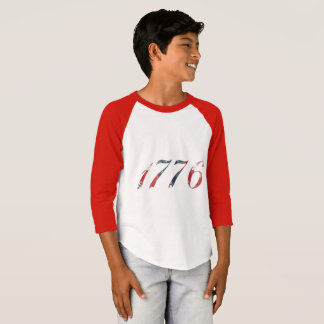 Camiseta O Raglan 1776 do menino