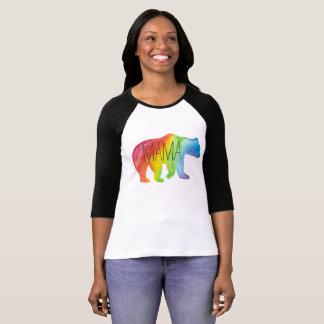 Camiseta O Raglan das mulheres do Mama Carregamento