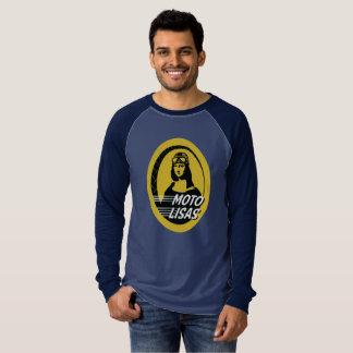 Camiseta O Raglan dos homens de Moto Lisas - escolha seus