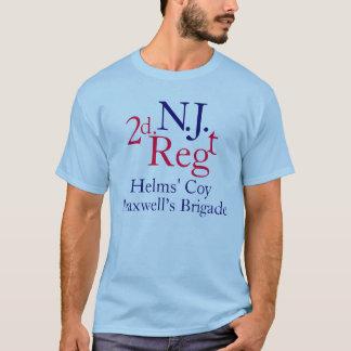 Camiseta ò Regimento de New-jersey