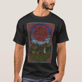 Camiseta O rei do azevinho e rei do carvalho, (yule)