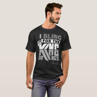 Camiseta O rei dos homens dos reis Básico Escuro T-shirt