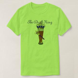 Camiseta O rei Fã Duelo do esboço