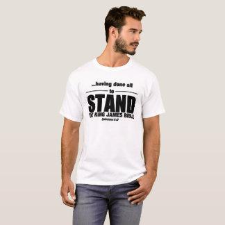 Camiseta O rei James Bíblia - para estar!