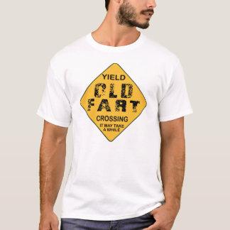 Camiseta O rendimento velho Fart cruzamento