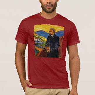 Camiseta O retrato de Friedrich Nietzsche por Edvar Munch o