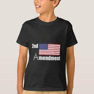 Camiseta ò Rifles A da AR da alteração e bandeira