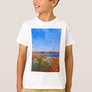 Camiseta O Rio Delaware dourado