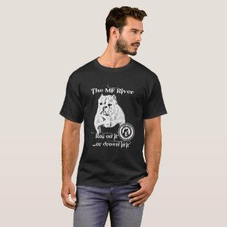 Camiseta O rio do MF - homens da BBC Shorty Bull