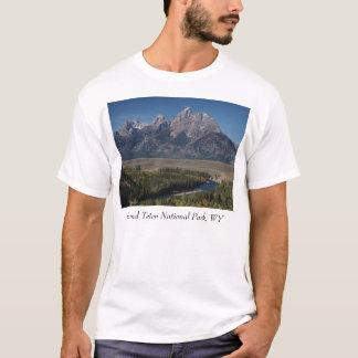 Camiseta O rio Snake negligencia, parque nacional grande de