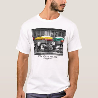 Camiseta O Riverwalk em San Antonio, Texas