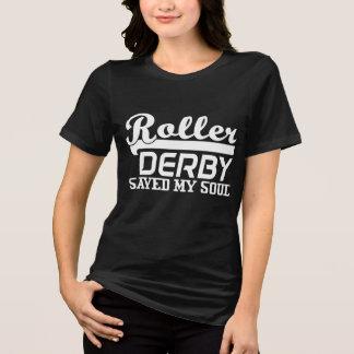 Camiseta O rolo Derby salvar minha alma, menina de Derby