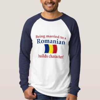 Camiseta O Romanian constrói o caráter