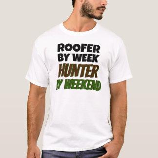 Camiseta O Roofer ama caçar