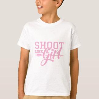 Camiseta O rosa gosta de uma menina