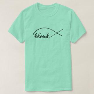 Camiseta O roteiro amado, peixe de Jesus, projeta
