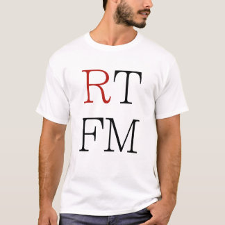 Camiseta O RTFM leu o T legal f*cking dos presentes dos