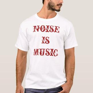 Camiseta O ruído é vermelho da música