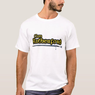 Camiseta O Rutherford do clã inspirou Scottish