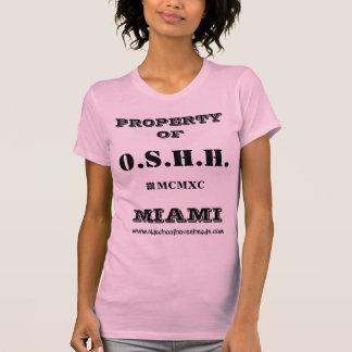 Camiseta O.S.H.H. Tanque feito sob encomenda L1 da