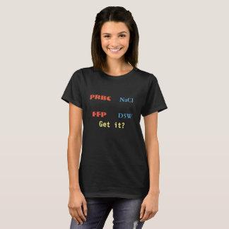 Camiseta O sangue é mais grosso do que o T da água