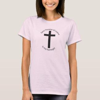 Camiseta O santo Therese Lisieux é meu homegirl