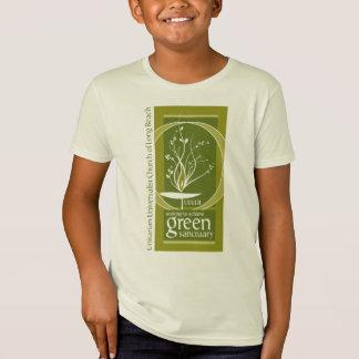 Camiseta O santuário verde caçoa T-Shrit