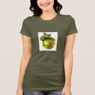 Camiseta O sapo protege o mundo!