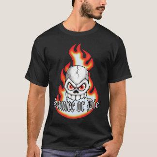 Camiseta o sautee ou morre