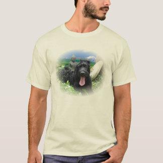 Camiseta O Schnauzer gigante alcança o nirvana