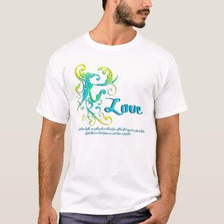 Camiseta o scrollart sae do aqua do amor