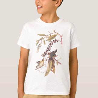 Camiseta O sem-fim de Audubon que come a toutinegra
