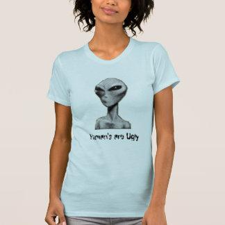 Camiseta O ser humano é feio