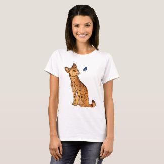 Camiseta O Serval e a borboleta