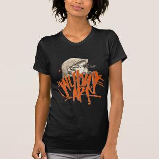 Camiseta O SF das mulheres da ARTE do JAILHOUSE