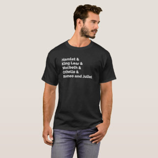 Camiseta O Shakespeare joga I