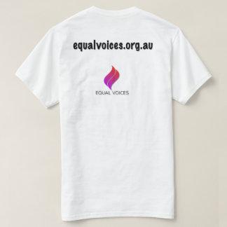 Camiseta O silêncio não é uma solução-luz