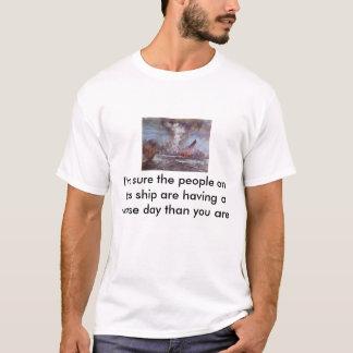 Camiseta o sinking_of_hms_hood [1], eu sou certo as pessoas